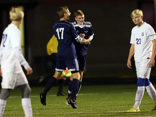 SCD at Grandview Heights Boys Soccer State Semi-Finals
