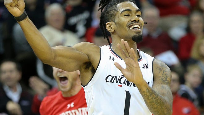 Jacob Evans III, on his No. 2-seeded Cincinnati Bearcats facing No. 15 seed Georgia State: 'The seeding is great, but every team in this (NCAA) tournament is good.'
