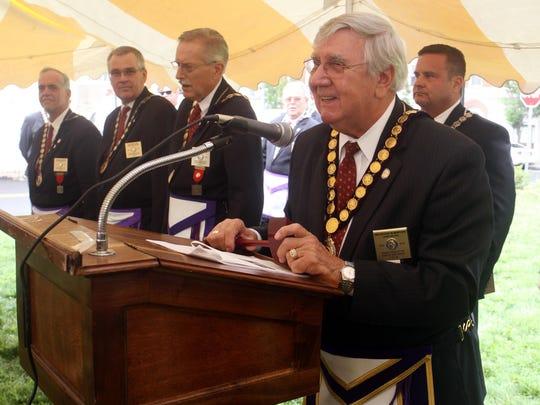 BRI EST 0629 Masonic Groundbreaking Ceremony