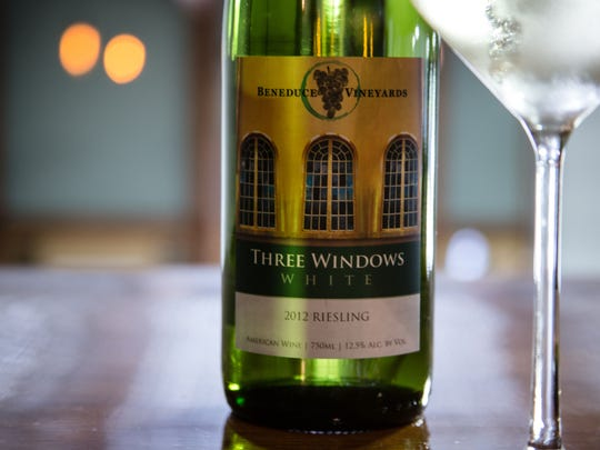 The Three Windows White Riesling has brought in several awards for Beneduce Winery.