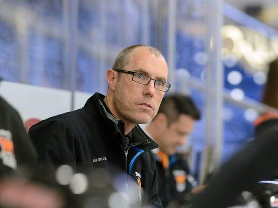 Clint Robert stepped down after nine seasons as Northville's varsity boys hockey coach.