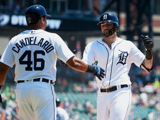 MLB: Oakland Athletics at Detroit Tigers