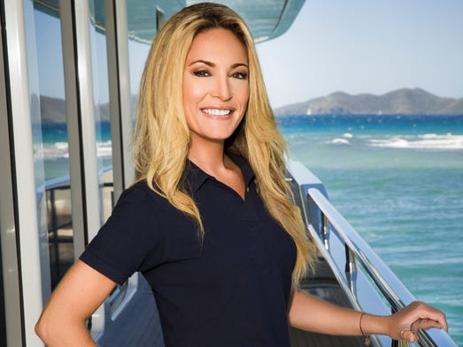 """Kate Chastain of Melbourne Beach stars in season two of Bravo's yachting reality show, """"Below Deck."""" Season 3 premieres at 9 p.m. Aug. 25."""