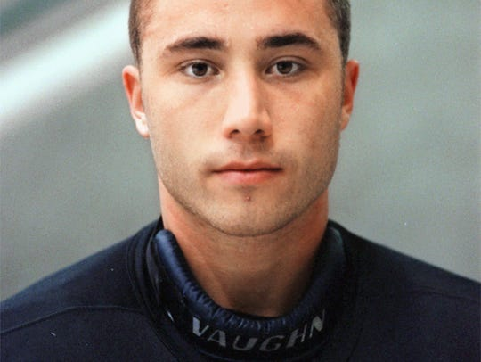 Florida Everblades goalie Marc Magliarditi