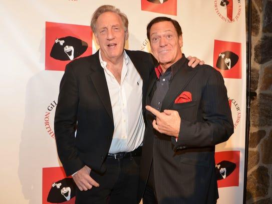"Alan Zweibel and former ""Saturday Night Live"" star"