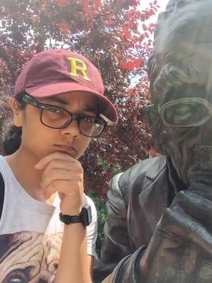 Kanupriya Agarwal is exploring Rochester as a Freshman at UR