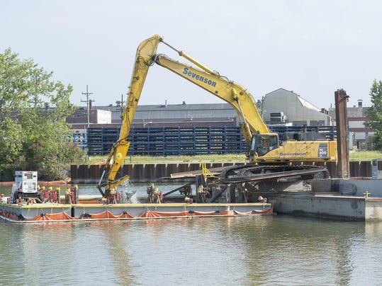 Cleanup of the River Raisin Area of Concern announcement