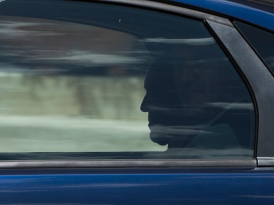 Pope Francis is silhouetted as he  leaves after his meeting with King Felipe VI of Spain and and Queen Letizia of Spain, at the Vatican, Monday, June 30, 2014. (AP Photo/Alessandra Tarantino)