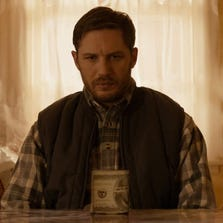 "Tom Hardy in a scene from ""The Drop."""