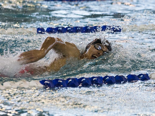 Flour Bluff junior is a threat for a medal in both the boys 100 butterfly and in the 50 freestyle at this week's UIL State Swimming and Diving Championships.