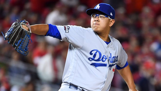 Dodgers pitcher Julio Urias is set to start Game 4 of the NLCS.