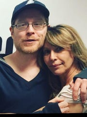 """""""Little Known Facts"""" creator Ilana Levine with podcast guest (and """"You're A Good Man, Charlie Brown"""" co-star) Anthony Rapp."""