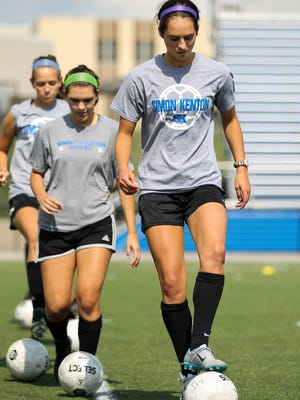 Simon Kenton's Laura Cox is the Enquirer's Heart and Hustle player of the week, Aug. 17.