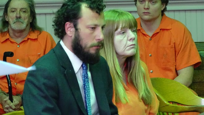 Theresa McPeek pleaded guilty to multiple drug-related charges on Monday, including two counts of trafficking drugs near juveniles.