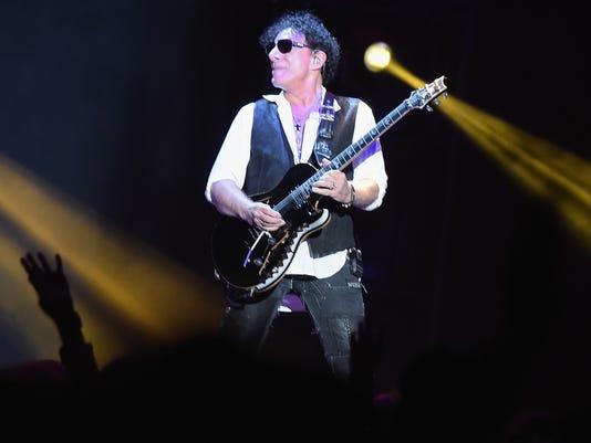 Journey And Santana In Concert - New York, New York
