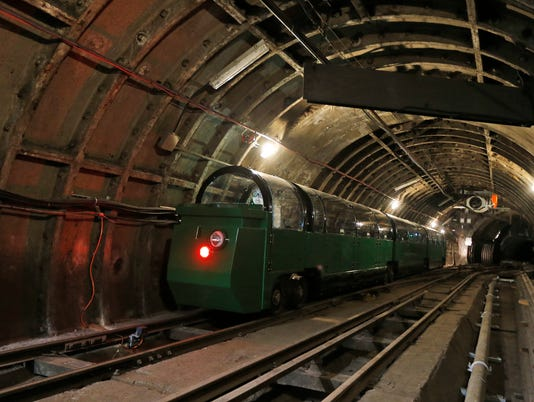 Mail Rail tunnels