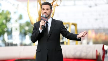 Jimmy Kimmel made a cameo in hit shows like 'The People v. O.J. Simpson,' 'Modern Family' and 'Game of Thrones' on the way to the Emmys.
