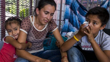 Amid family-separation crisis, asylum seekers at the border face long waits, few options