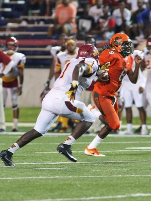 FAMU quarterback Kenny Coleman had two touchdowns through the air on Saturday against Tuskegee.