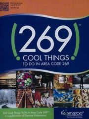 269 Cool Things to do in Area Code 269 magazine. Photos are of downtown Kalamazoo July 5, 2017 for a story on how the city's tourism board and economic development agency are suing each other over the use of the 269 area code in promotional materials. (David Guralnick / The Detroit News)