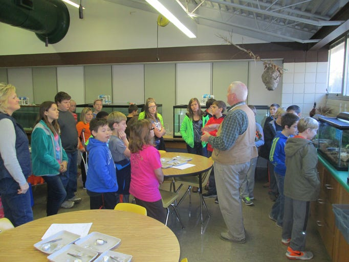 Fifth-grade students from Ambler Elementary School