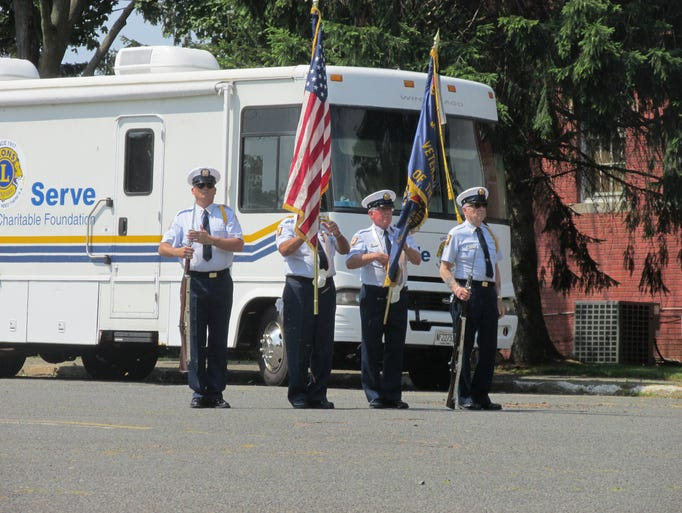 VFW Post 4699 in Sayreville participates in the annual