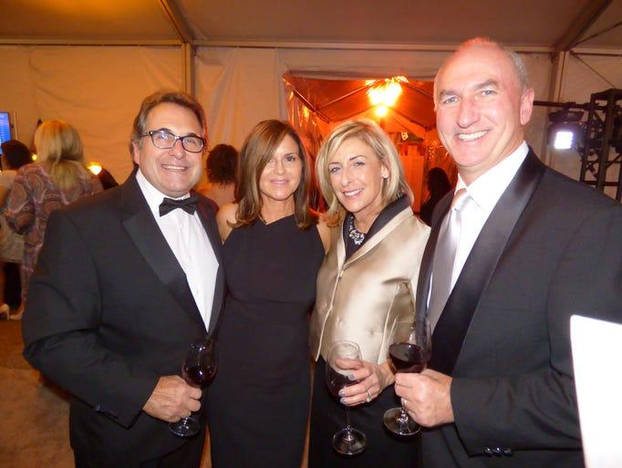 Tom and Lisa Manganello of Royal Oak and Karen and