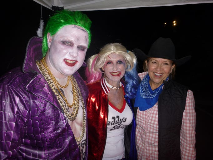The Joker and Harley Quinn (Tolly and Trisha Harris)