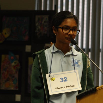 Dhyana Mishra, a sixth-grader at West Melbourne School