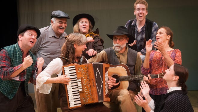 """Lost Nation Theater revives its original play """"Stone"""" through Aug. 9 in Barre."""