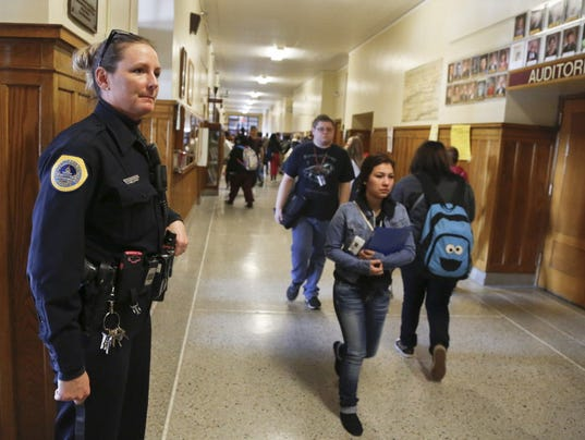 police officers in schools essay