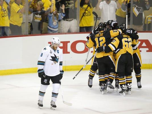 San Jose Sharks at Pittsburgh Penguins