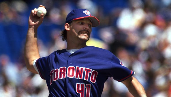 Toronto Blue Jays pitcher Pat Hentgen in 1999.