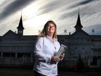 Courier-Journal Horse Racing Reporter Jennie Rees. February 19, 2014