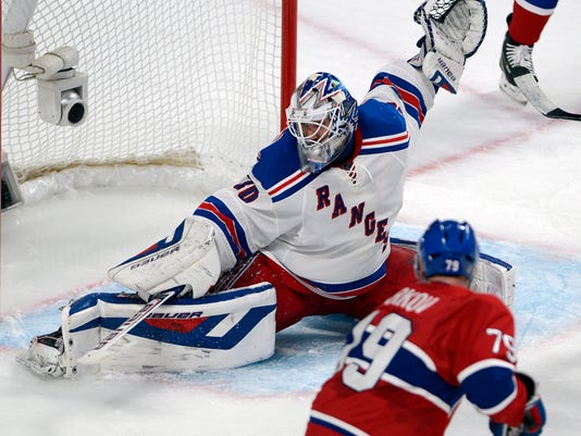 Rangers Canadiens Hockey