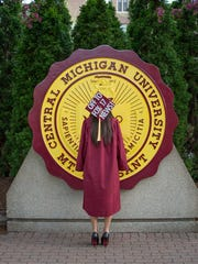Erica Francis, 22, graduated from Central Michigan