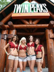 "Twin Peaks is hiring ""Lumber-Jills"" for its new restaurant in Fort Myers."