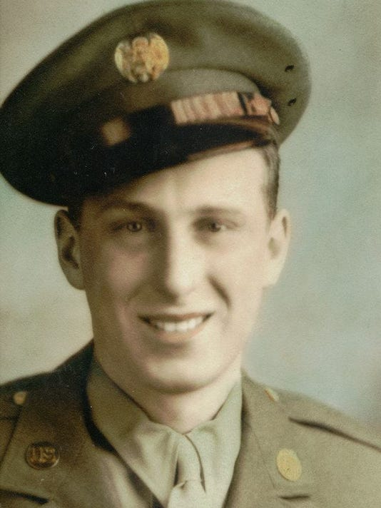Ed Daul in military head shot