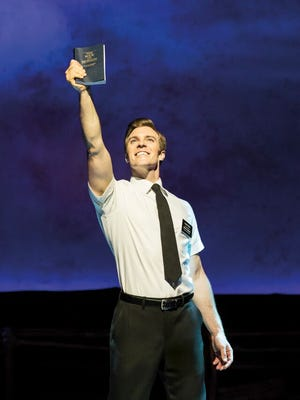 """The Broadway musical """"The Book of Mormon"""" begins a week-long run at the Plaza Theatre on Nov. 10."""
