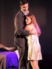 Clara, played by Kimberly Christine, falls in love with Fabrizio, played by Paul Corujo.