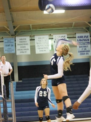 Airline's Shelbi Chadick helped move volleyball forward locally.