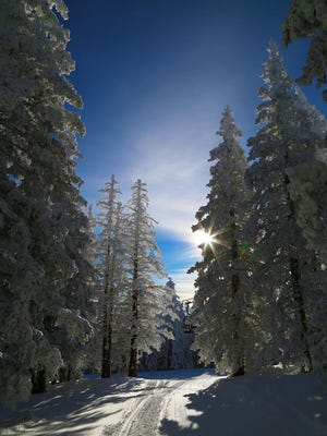Expect awesome skiing if you have the chance to make it to Ski Apache over the weekend.