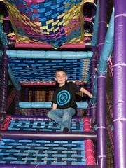Hickory Falls' indoor play area is great for active kids.