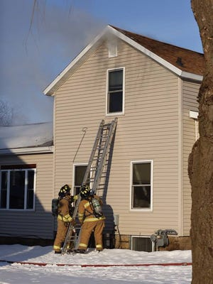 Fire crews responded to a house fire Saturday afternoon, Feb. 6, in Waupun. The fire was out in less than an hour.