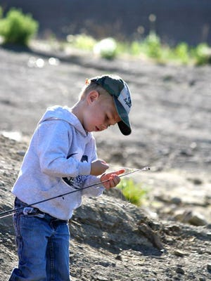 Bring your fishing poles and sunscreen for a fun day of free fishing for children 12-years-old-and-under at Grindstone Lake and Lincoln County lakes and ponds, 9 a.m. to noon, June 4.