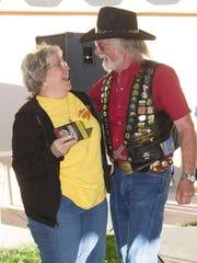 LouAnn Spath of Lindsay,Texas, seen here with rally