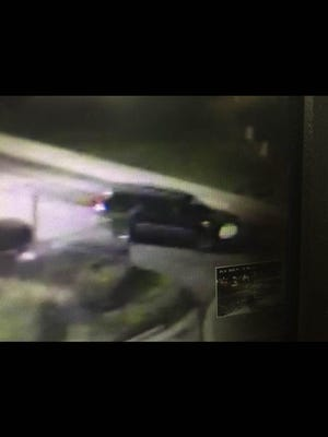 The Reno Police Department provided a still image of the vehicle that police believe was involved in a pedestrian hit and run.