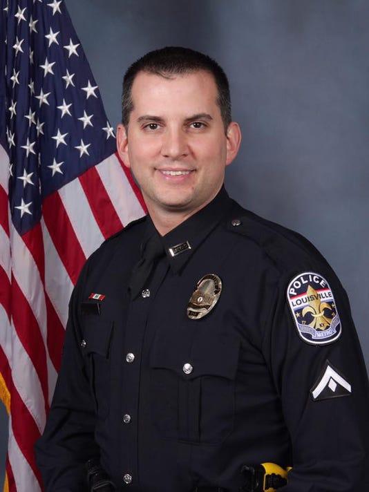 Louisville Metro Police Detective Jason Schweitzer