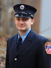 FDNY Probationary EMT Aric Tegtmeier of Pleasant Valley.