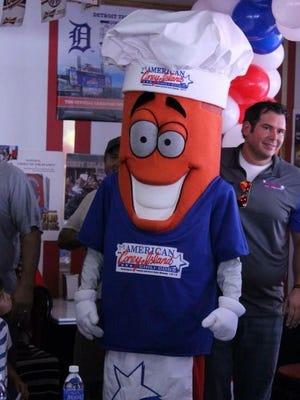 Coney D is American Coney Island's mascot.